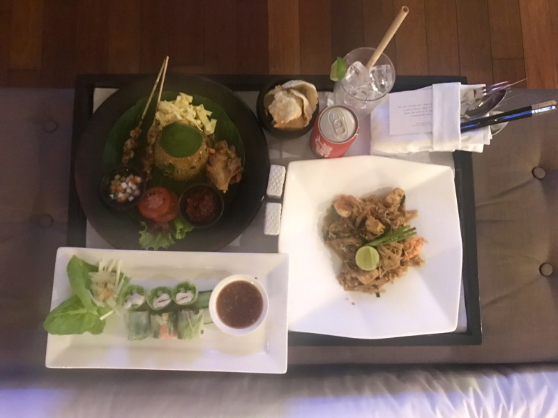 seminyak beach resort and spa room service