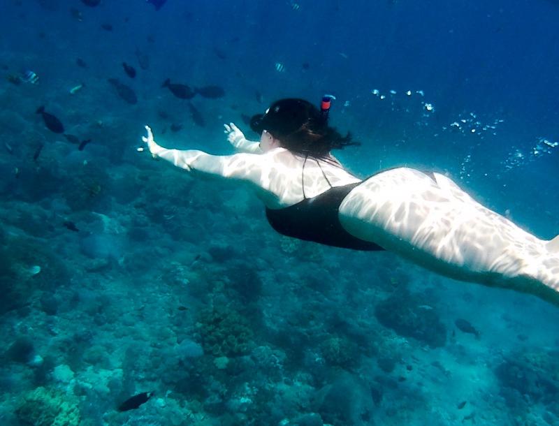 Bali Hai boat tour snorkelling