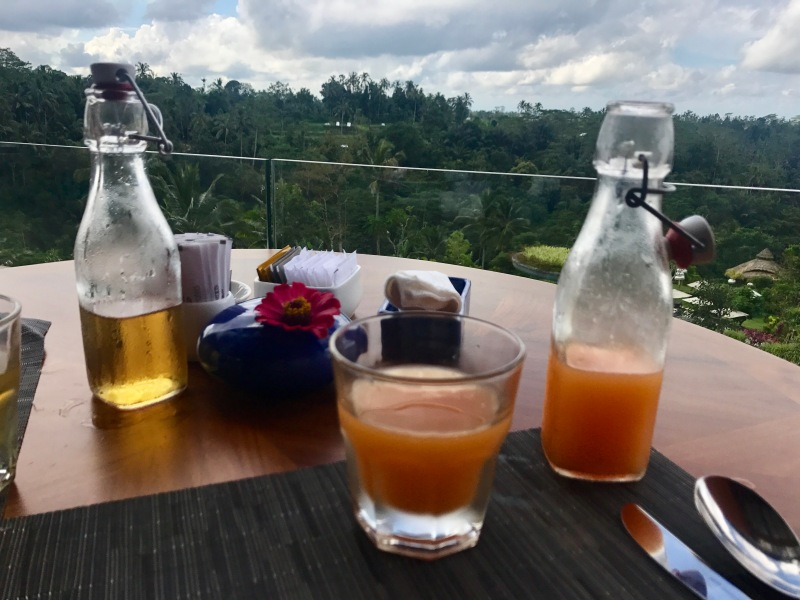 padma resort ubud breakfast