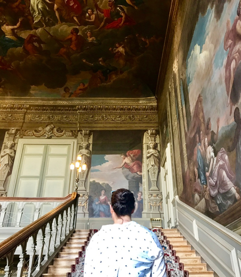 Painted staircase petworth house uk