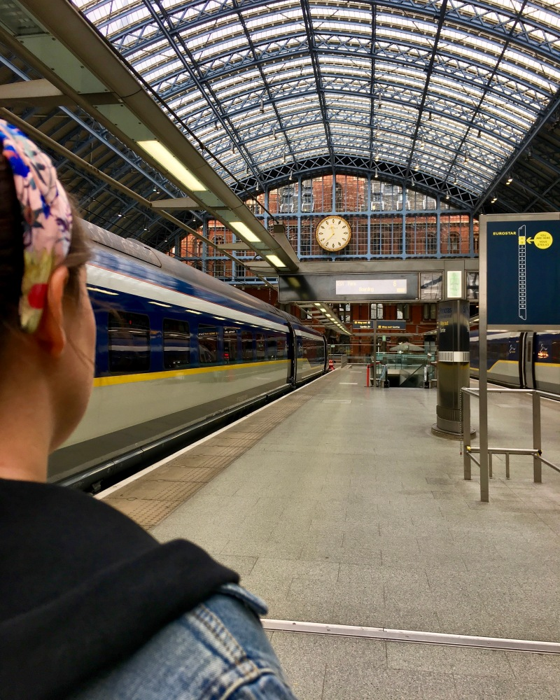 st pancras international euro star