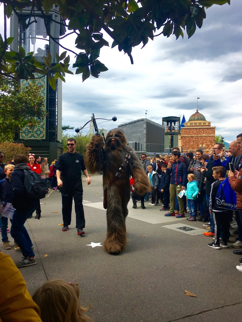 disney land paris chewbacca star wars