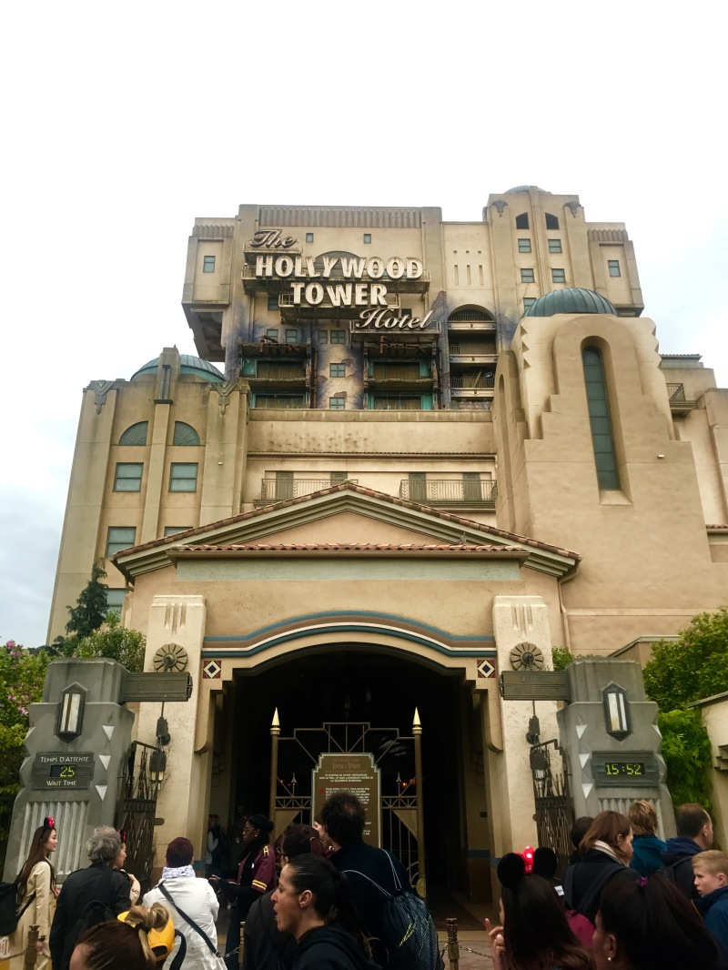 disney land paris walt disney studios hollywood tower hotel