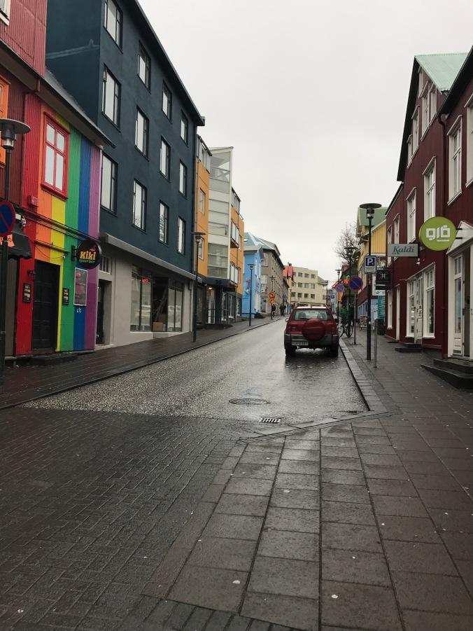 colourful reyjkavik streets