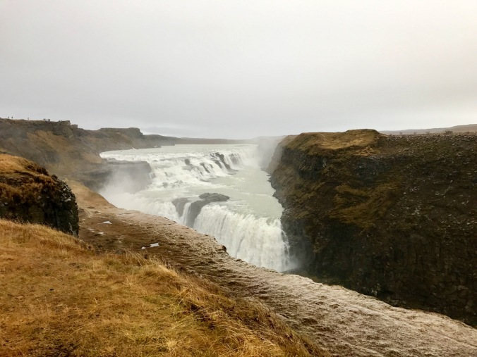 Gulloss waterfall iceland
