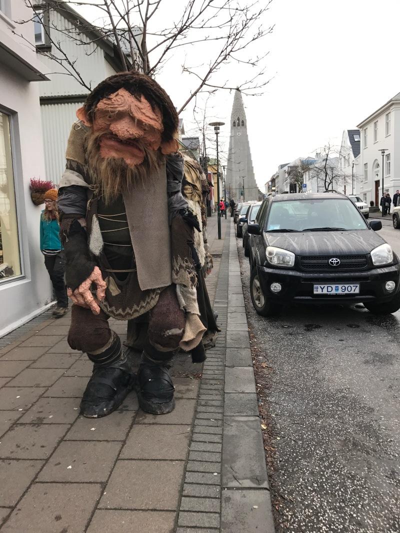 Reykjavik high street
