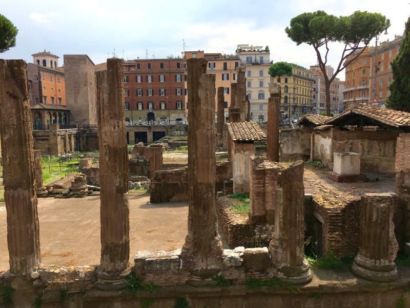Pigna ruins rome