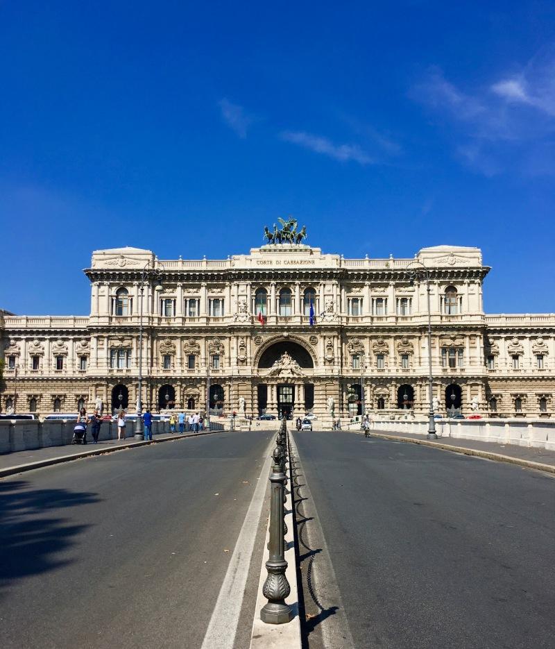 bridge to corte di cassazigne, rome
