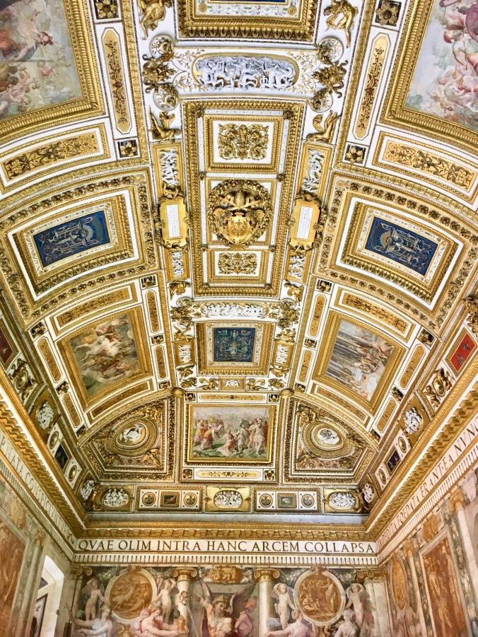 Castel Sant'Angelo ceiling