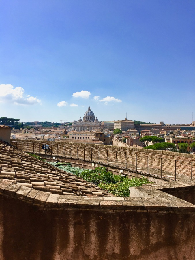 Castel Sant'Angelo view of the vatican