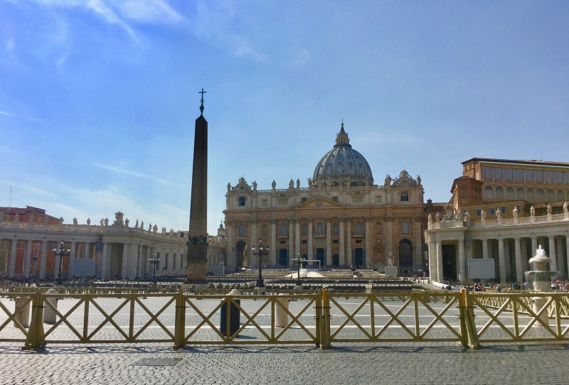 St Peters square, the vatican, rome