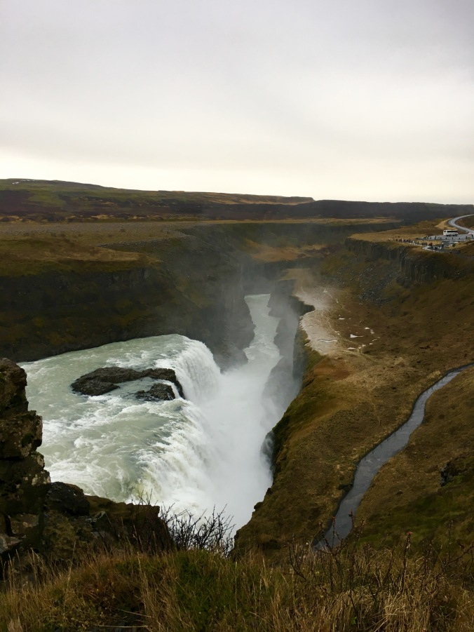 Gulloss waterfall iceland