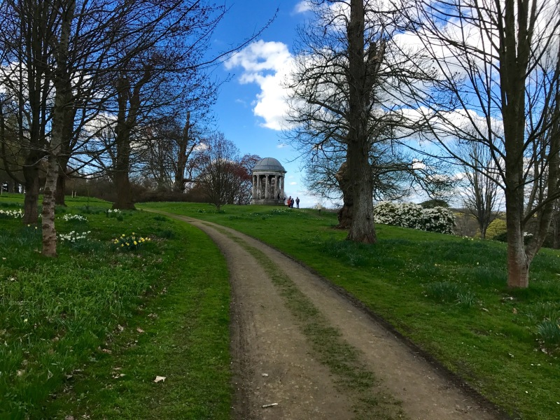 Capability Brown gardens Petworth House UK