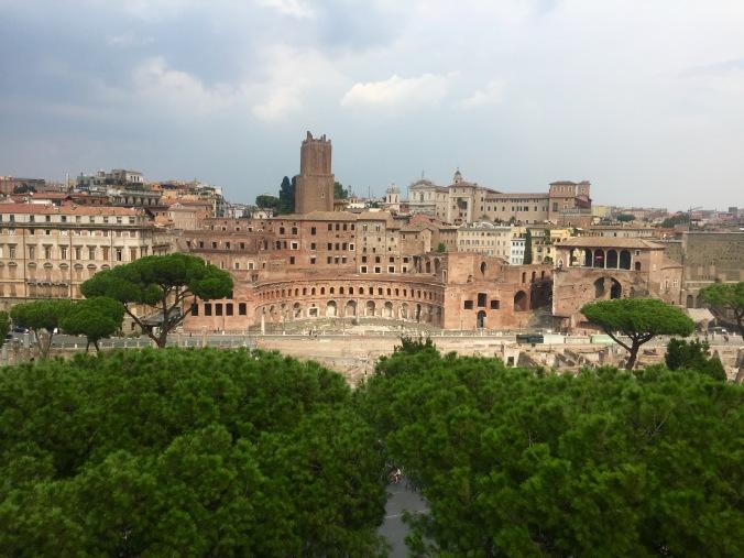 view from Altare della Patria
