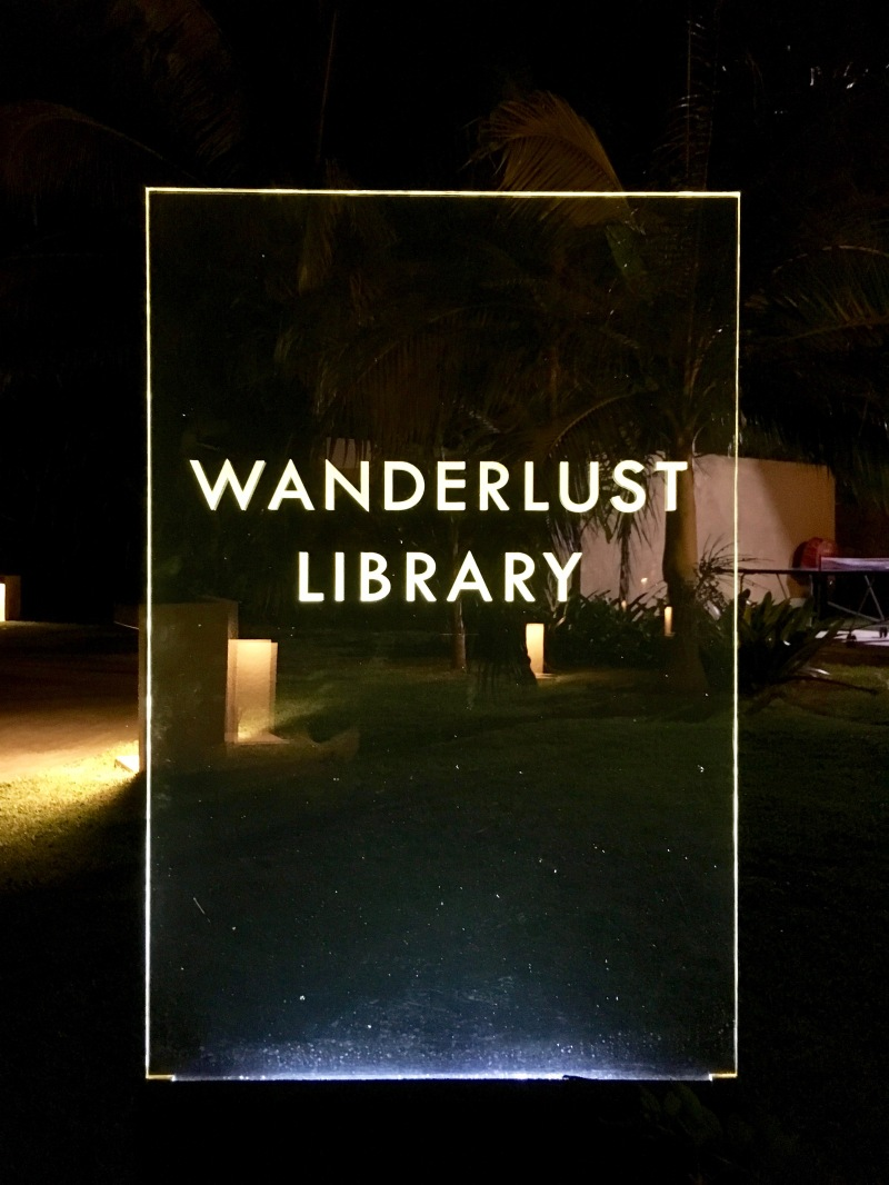 wanderlust library, lux le morne, mauritius