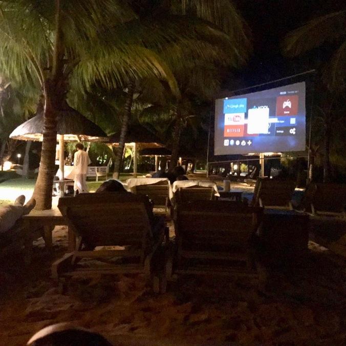 cinema paradiso, lux le morne, mauritius