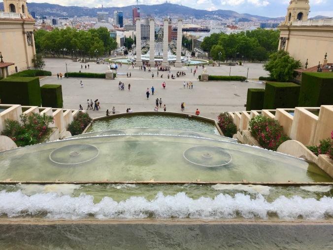 fountains Museu Nacional d'Art de Catalunya